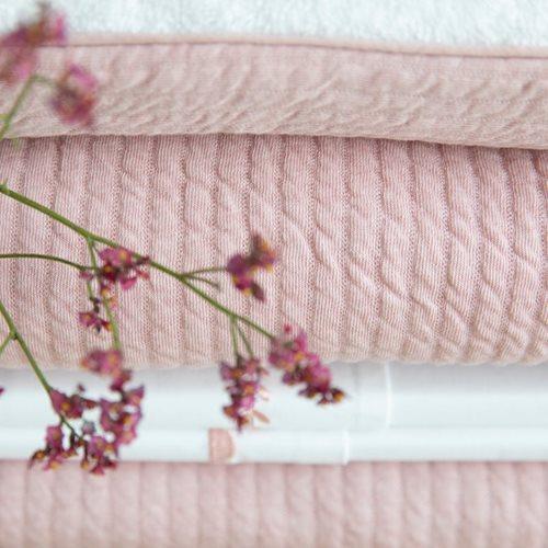 Bezug für Wiegedecke Pure Pink