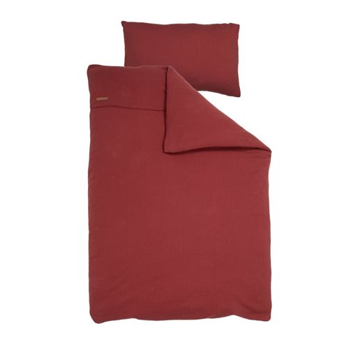 Picture of Single duvet cover Germany Pure Indian Red