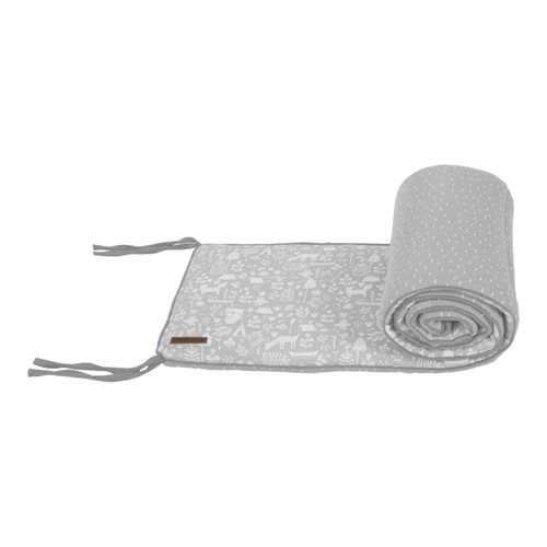 Picture of Cot bumper Adventure Grey
