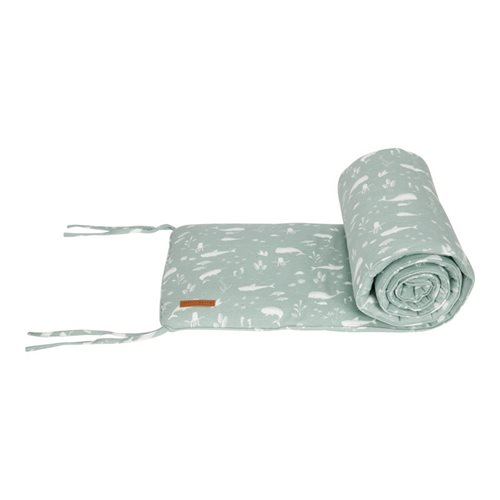 Picture of Cot bumper Ocean Mint