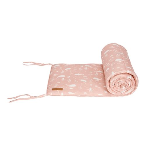 Picture of Cot bumper Ocean Pink