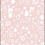 Afbeelding van Behangstaal Vliesbehang - Adventure Pink