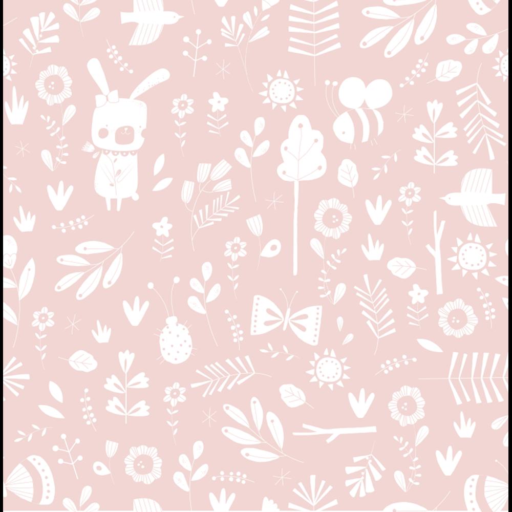 Tapete muster Vliestapete - Adventure Pink