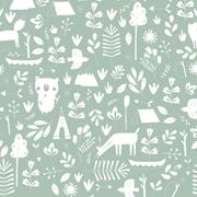 Échantillon de papier peint - Adventure Mint