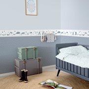 Afbeelding van Behangstaal vliesbehang - Sprinkles blue