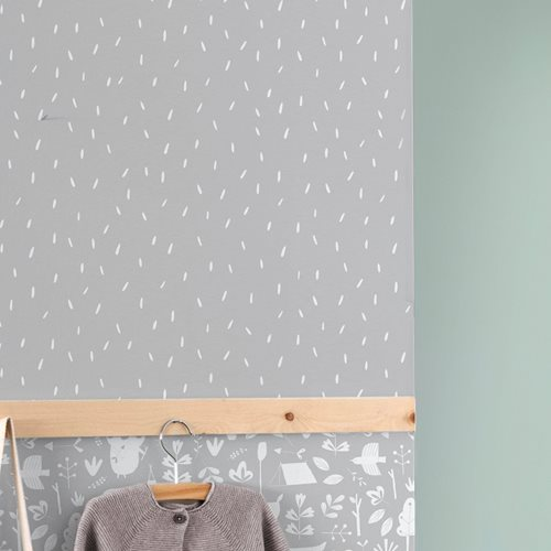 Échantillon de papier peint - Sprinkles Grey