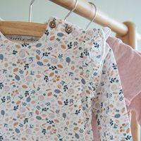 Afbeelding van T-Shirt 62 all-over print lange mouw - Spring Flowers