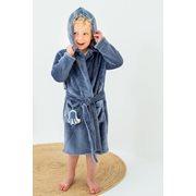 Baby-Bademantel Blue 74/80 - Ocean