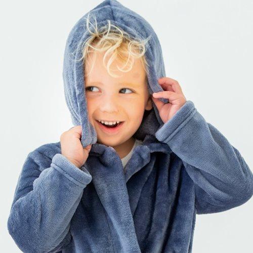 Picture of Baby bathrobe Blue 86/92 - Ocean