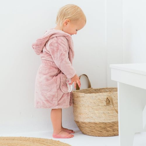 Picture of Baby bathrobe Pink 86/92 - Ocean