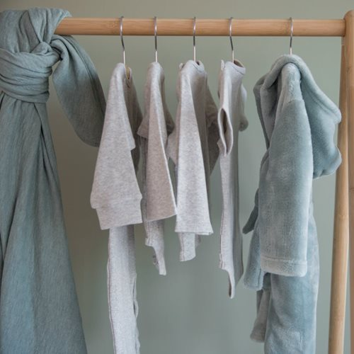 Picture of Baby bathrobe Mint 74/80 - Ocean