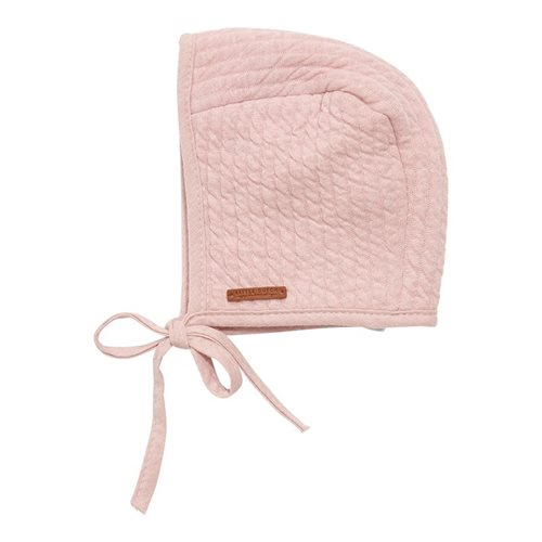 Afbeelding van Babymuts met touwtjes Pure Pink