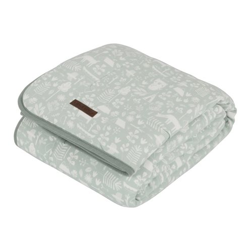 Picture of Cot blanket Adventure Mint
