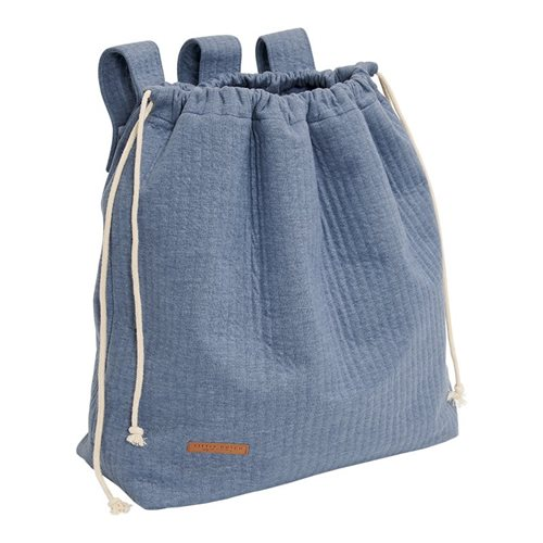 Picture of Playpen toy bag Pure Blue
