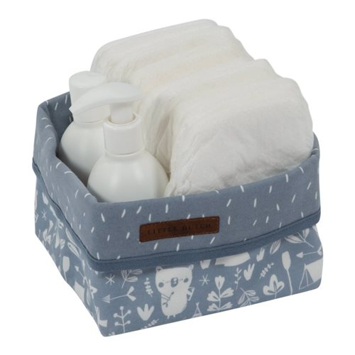 Picture of Storage basket, small Adventure Blue