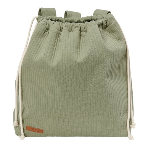 Picture of Playpen toy bag Pure Olive