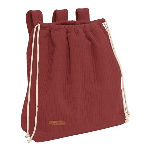 Picture of Playpen toy bag Pure Indian Red