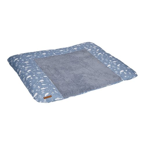 Picture of Changing mat cover Germany Ocean Blue