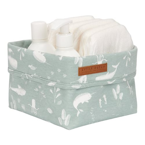Picture of Storage basket, small Ocean Mint