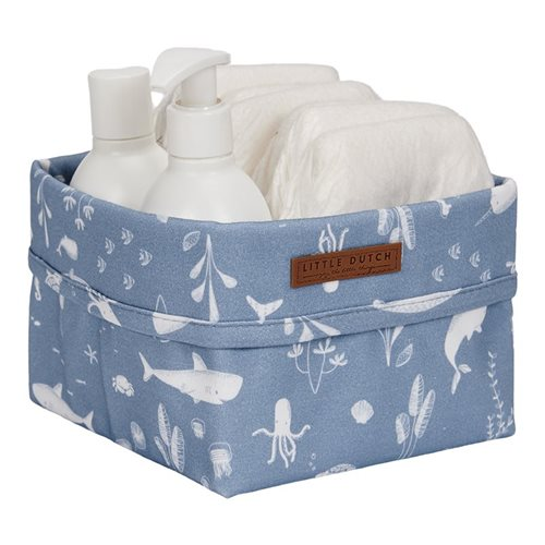 Picture of Storage basket, small Ocean Blue