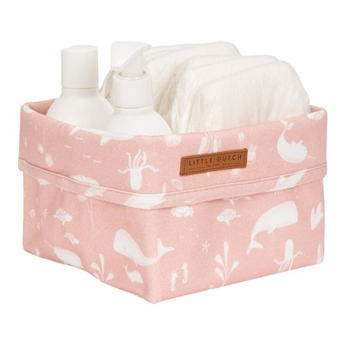 Picture of Storage basket, small Ocean Pink