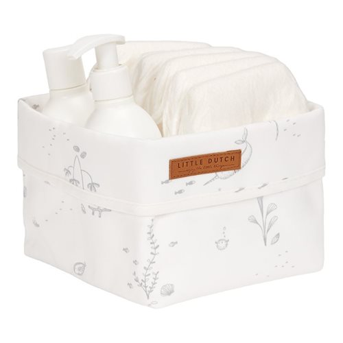 Picture of Storage basket, small Ocean White
