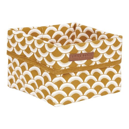 Picture of Storage basket, small Sunrise Ochre