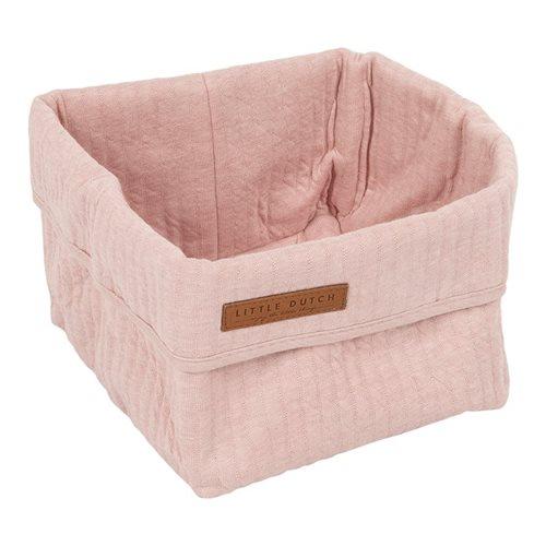Panier de toilette petit Pure Pink