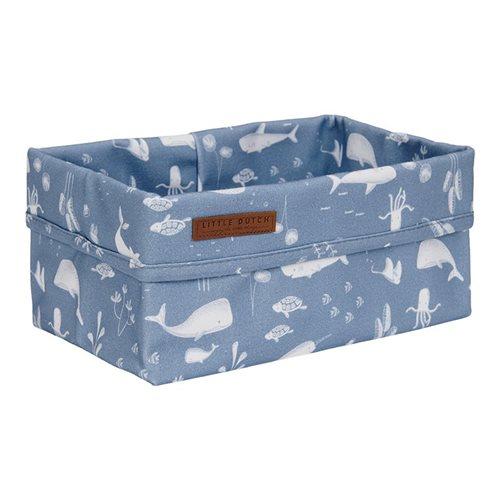 Picture of Storage basket, large Ocean Blue