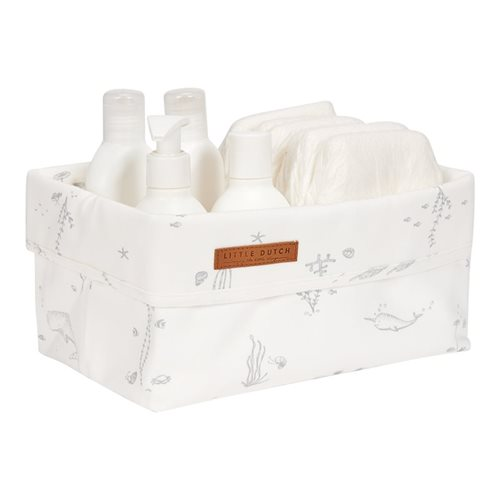 Picture of Storage basket, large Ocean White