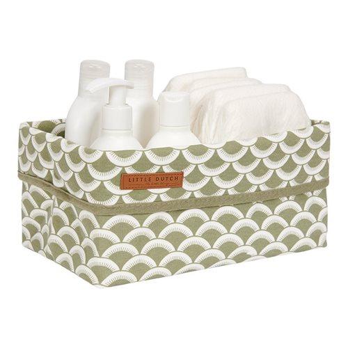 Picture of Storage basket, large Sunrise Olive