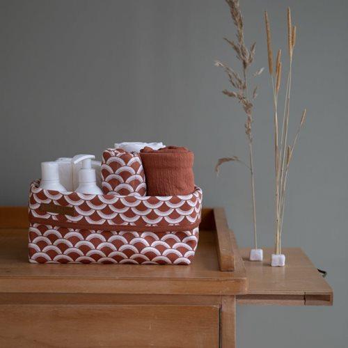 Picture of Storage basket, large Sunrise Rust
