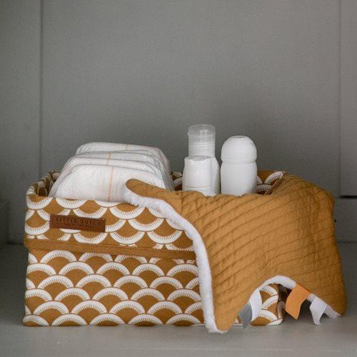 Picture of Storage basket, large Sunrise Ochre