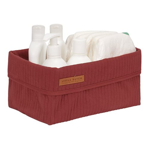 Picture of Storage basket, large Pure Indian Red
