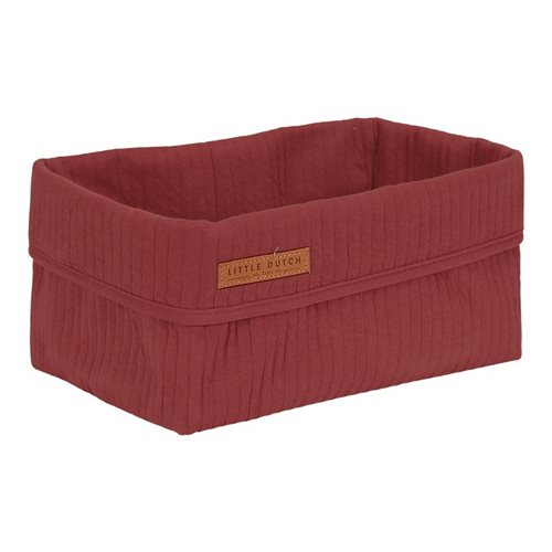 Panier de toilette grand Pure Indian Red