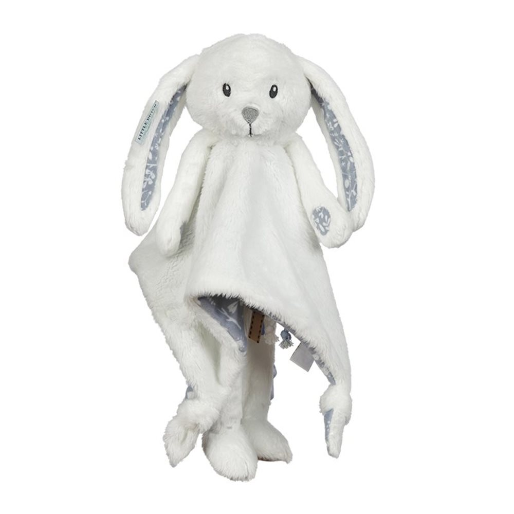 Doudou grand lapin Adventure Bleu