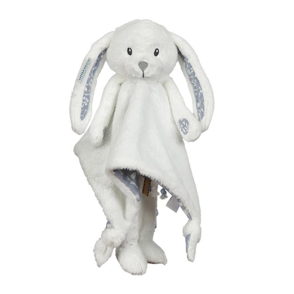 Afbeelding van Knuffeldoek lang konijn Adventure Blue