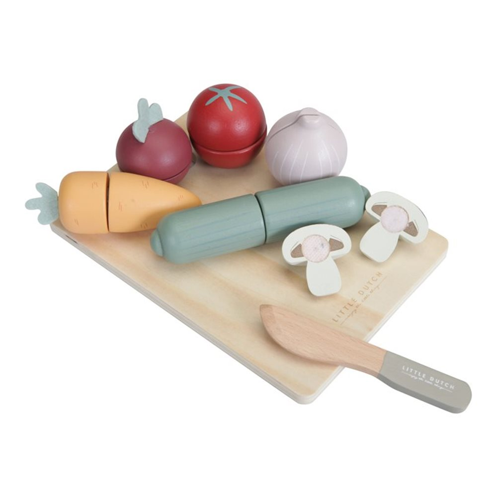 Picture of Wooden cutting vegetables