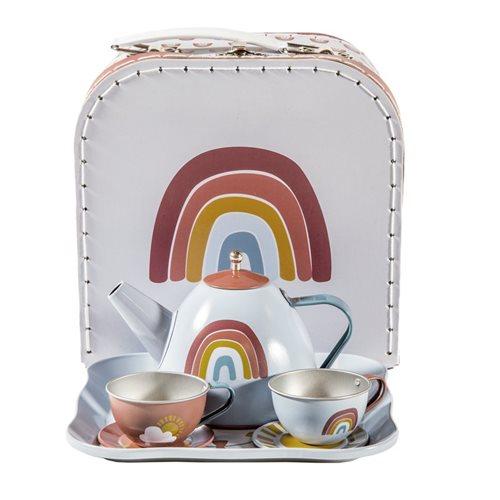 Tee-set im koffer Rainbow
