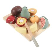 Picture of Wooden cutting fruits