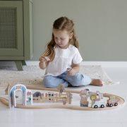 Holzeisenbahn Erweiterung - Bauklötze Zoo