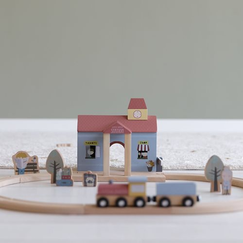 Circuit de train extension - gare