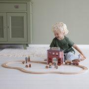 Circuit de train extension - caserne de pompiers