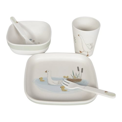 Picture of Bamboo Tableware Set Little Goose