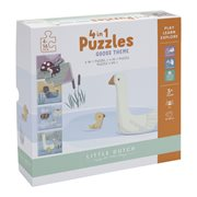 4 in 1 Puzzle Little Goose