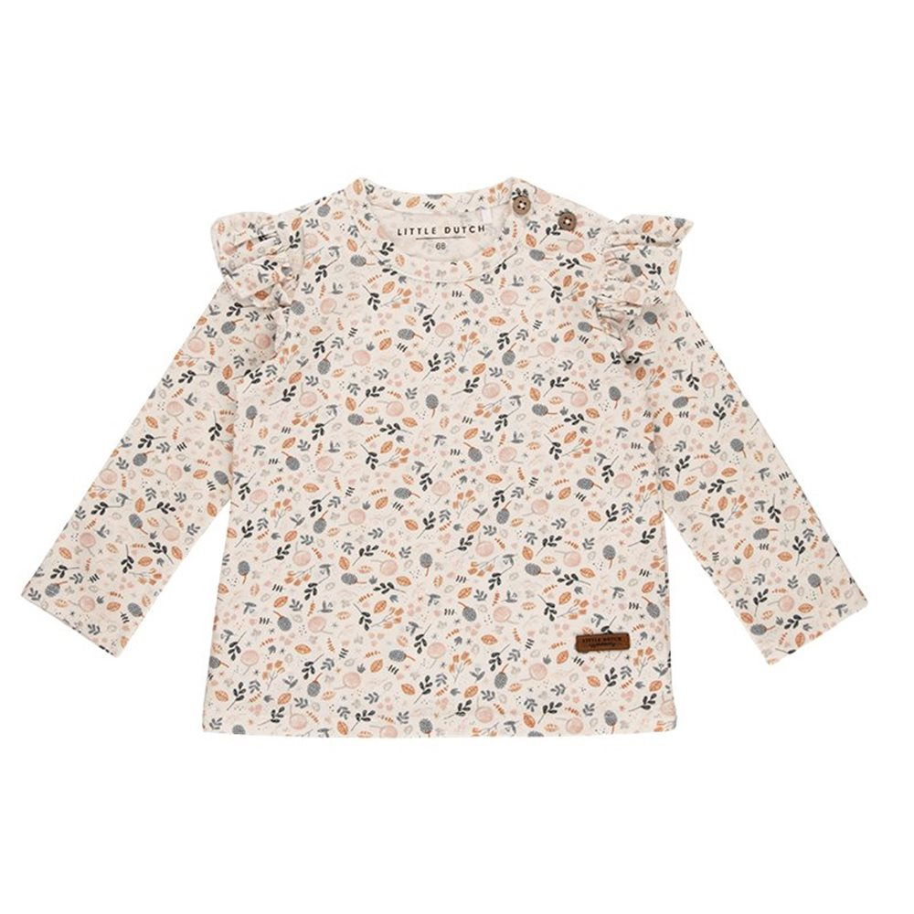 Picture of T-Shirt 74 long sleeves with all-over print - Spring Flowers