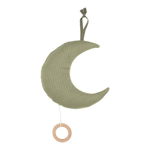 Spieluhr Mond Pure Olive