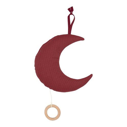 Boîte à musique de lune Pure Indian Red