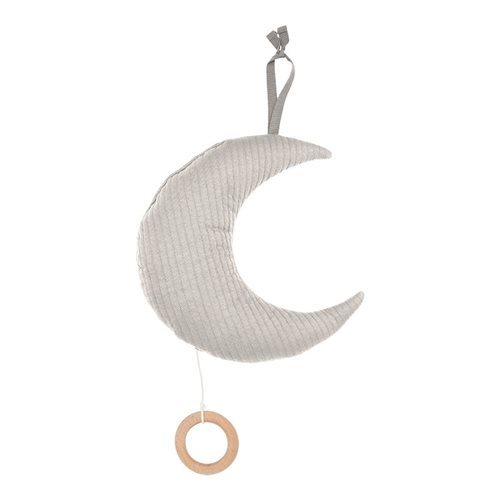 Picture of Moon-shaped music box Pure Grey