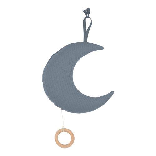 Spieluhr Mond Pure Blue